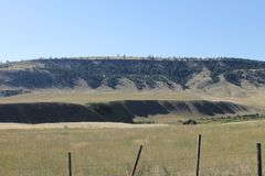 Ranchlands风景 免版税库存图片