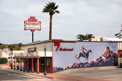 The Rancho 7 Restaurant in Arizona Royalty Free Stock Image