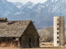 Rancho abandonado pastoral Imagen de archivo libre de regalías