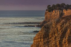 Rancho coloré Palos Verdes Sunset image stock