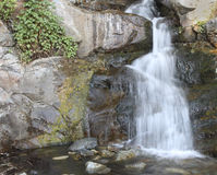 RANCHO CUCAMONGA, CA - Etiwanda-Dalingen, lagere mening Stock Foto's