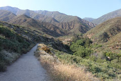 RANCHO CUCAMONGA, CA - North Etiwanda Preserve trail Royalty Free Stock Photo