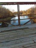 Rancho da mola da ponte fotografia de stock