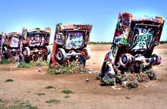 Rancho de Cadillac Fotos de Stock Royalty Free