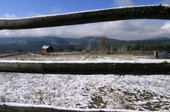 Rancho de Coquihala Imagens de Stock Royalty Free