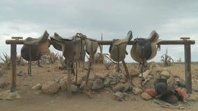Rancho de los vaqueros en el oeste salvaje