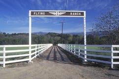 Rancho del vuelo Imagen de archivo libre de regalías