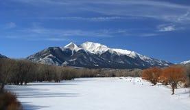 Rancho em Colorado foto de stock