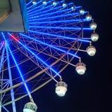 Rancho Ferris Wheel do céu fotos de stock royalty free