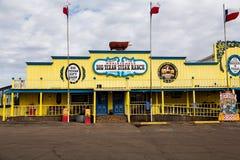 Rancho grande do bife do Texan Imagem de Stock