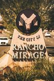 市Rancho Mirage 库存照片