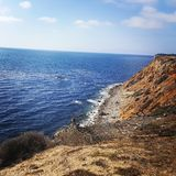 Rancho Pales Verdes. Cliff side shoot of Pales Verdes Royalty Free Stock Images