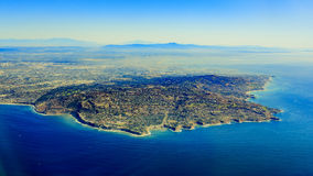 Rancho Palos Verdes från överkant arkivbilder