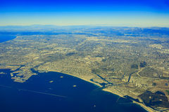 Rancho Palos Verdes from top Stock Images