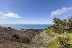 Rancho Palos Verdes View Towards Catalina Island Royalty Free Stock Photo
