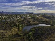 Santa Fe Hills - San Marcos Royalty Free Stock Photos