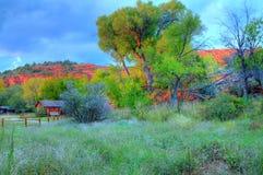 rancho sedona obrazy stock