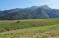 Rancho toppig bergskedja utsikt/Satwiwa, Santa Monica Mountains royaltyfri fotografi