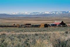 rancho zachodni Obrazy Stock