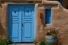 Ranchos de Taos im New Mexiko Stockfotografie