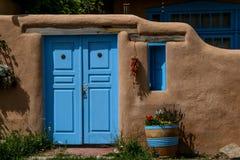 Ranchos de Taos im New Mexiko Stockfoto