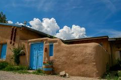 Ranchos de Taos in New Mexico Royalty Free Stock Image