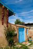 Ranchos de Taos in New Mexico. Detail from Ranchos de Taos in New Mexico stock photo