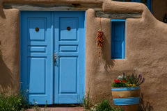 Ranchos de Taos in New Mexico Stock Photography
