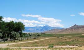 ranchvägar Fotografering för Bildbyråer