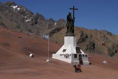 Rand Argentinien - Chile Stockbilder