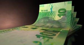 Rand Bank Notes Spread Stock Photos