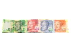 Rand Banknotes Arkivfoto