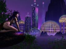 Rand der Zivilisation Stockfoto