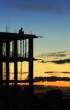 Am Rand des Sonnenuntergangs Lizenzfreie Stockfotos