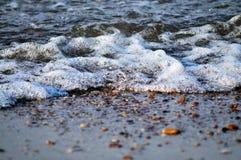 Rand des Wassers stockfoto