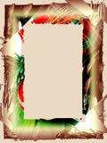 Rand: Feiertags-Plaid Lizenzfreies Stockbild