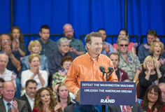 Rand Paul Campaigns at Las Vegas Stock Photography