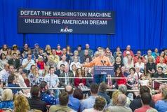 Rand Paul Campaigns at Las Vegas Stock Photo