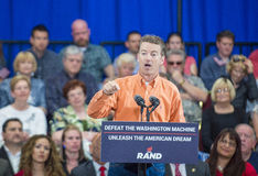 Rand Paul Campaigns at Las Vegas Royalty Free Stock Images