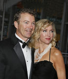 Rand Paul and Kelley Ashby. The junior senator from Kentucky, Rand Paul, and wife Kelley Ashby, arrive on the red carpet for the 9th Annual Time 100 Gala in New royalty free stock image