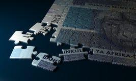 Rand Puzzle surafricano Imagen de archivo libre de regalías