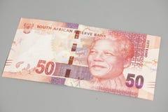 Rand sudafricano cincuenta fotografía de archivo