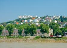Rand van Bratislava, Slowakije Royalty-vrije Stock Foto