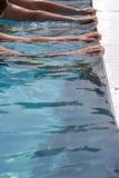 Rand van een pool royalty-vrije stock foto