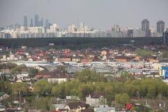 Rand van Moskou van het zuidwesten Royalty-vrije Stock Foto's