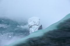 Rand van Niagara Stock Afbeeldingen