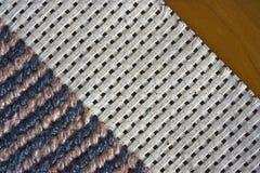 Rand van tapijtwerk Stock Foto's