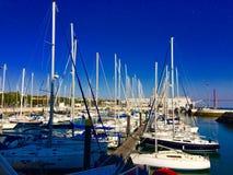 Am Rand vom Tajo - Docks von Belem-und Brücken-April-` s 25 - Lissabon Lizenzfreie Stockbilder