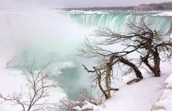 Rand von Niagara Stockbild