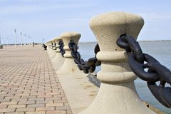 Rand von See Erie Lizenzfreie Stockfotografie